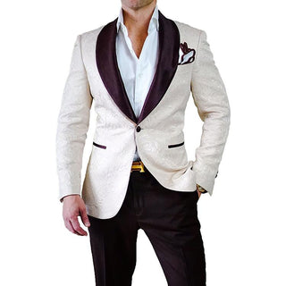 Vanilla & Black Fiore Dinner Jacket