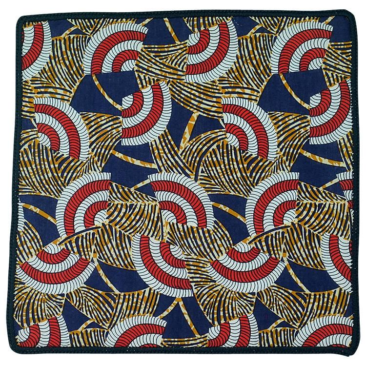 Tribal Danza with Navy Blue Signature Border