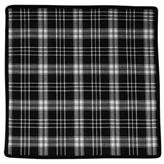 Tartan Inchiostro and Black Signature Border