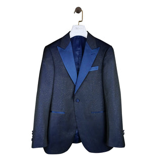 S by Sebastian Navy Brillante Jacket