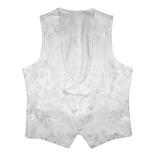 Zar Bianco Double Breasted Waistcoat