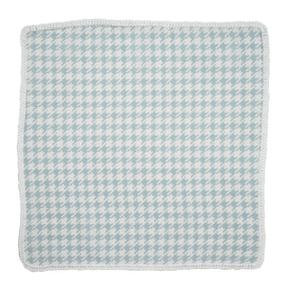 Alzavola Houndstooth with White Signature Border