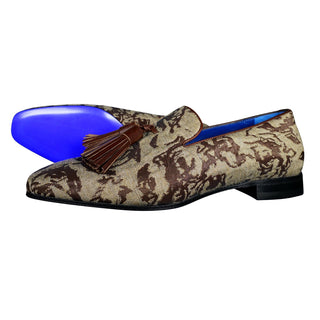 Damascus Series Cioccolato Tassel Loafer