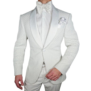 S by Sebastian Porcellana Honeycomb Dinner Jacket