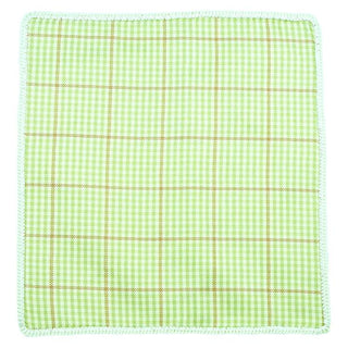 Plaid Asparagi with Off White Signature Border