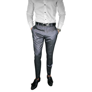 Gunmetal Lustro Trousers