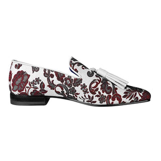 Damascus Series Crimson Tassel Loafer