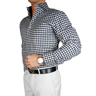 S by Sebastian Black Signature Dress Shirt
