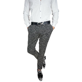 S by Sebastian Black Trousers