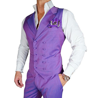 S by Sebastian Midnight Plum Paisley Dinner Jacket