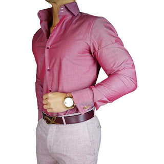 S by Sebastian Magenta Chameleon Dress Shirt