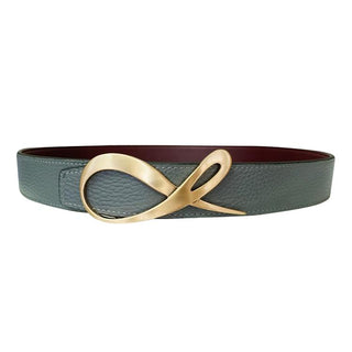 Classica Bordo Grafite Rose Gold Belt