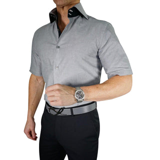 Brushed Carbon Dress Shirt
