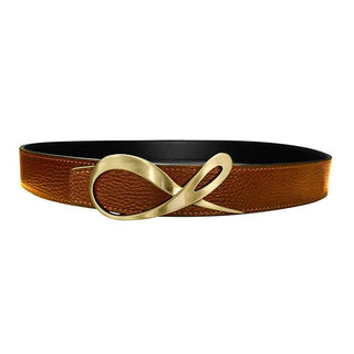 Classica Caramello Nero Opal Yellow Gold Belt