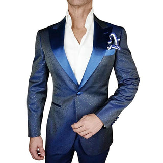 Gunmetal Lustro Dinner Jacket
