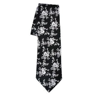 Burgundy Nero Carnation Necktie