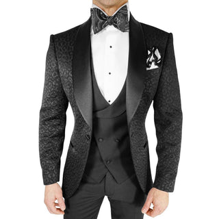 Black Ghepardo Dinner Jacket