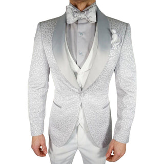 Silver Ghepardo Dinner Jacket