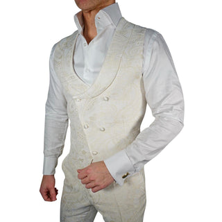 Golden Impero Double Breasted Waistcoat