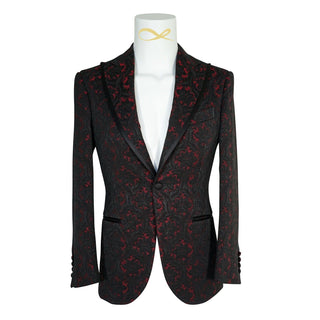 Crimson Lilia Jacket