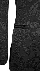 Black Fiore Dinner Jacket