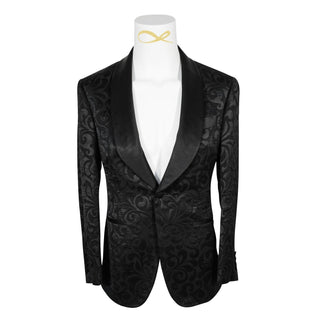 Black Paisley Dinner Jacket