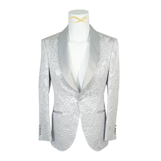 Silver Fiore Dinner Jacket
