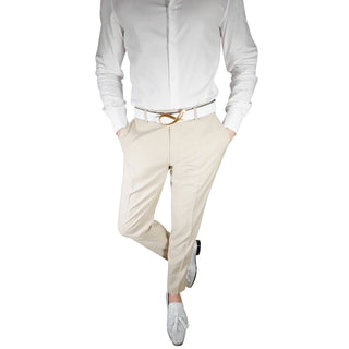 S by Sebastian Khaki Crema Trousers