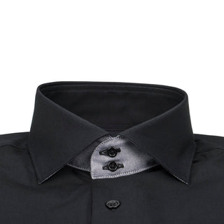 Black Gunmetal Short Sleeve Shirt