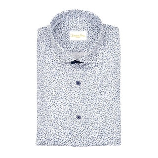 White Salvia Weavetex Dress Shirt