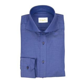 Denim Lapis Weavetex Dress Shirt