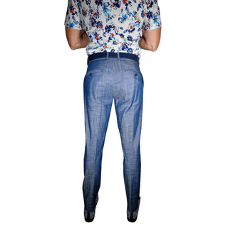 S by Sebastian Cobalt Denim Trousers