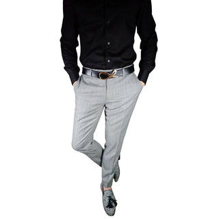 Carbone Lino Tweed Trousers