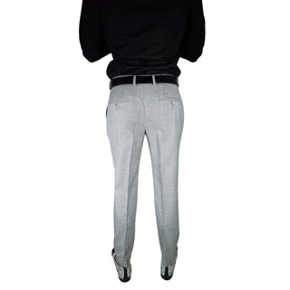 S by Sebastian Fossile Grey Trousers