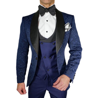 Navy Blue Fiore Jacket
