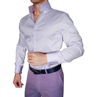 S by Sebastian Lilac Blue Dress Shirt