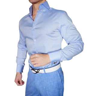 S by Sebastian Maya Blu Brunnea Dress Shirt