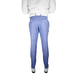 Azure Denim Canestro Trousers