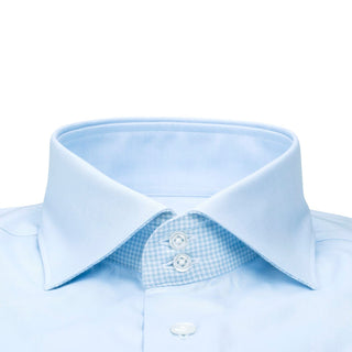 Bambino Blu Houndstooth Short Sleeve Shirt