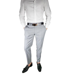 S by Sebastian Fossil Grey Trousers