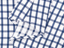 White Azure Plaid Dress Shirt