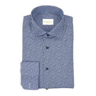 Light Denim Fiori Dress Shirt