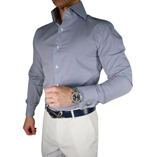 Navy Vector Dress Shirt