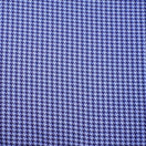 S by Sebastian Navy Lapis Houndstooth Dress Shirt