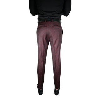 Burgundy Camaleonte Trousers