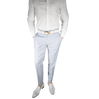 S by Sebastian Pearl Grey Cielo Trousers