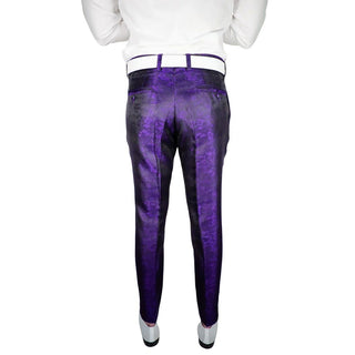 Purple Brillo Trousers