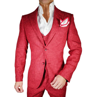 S by Sebastian Tweed Burgundy Cascata Jacket