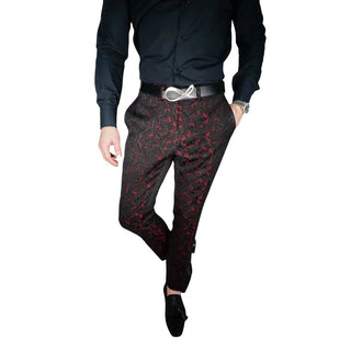 Crimson Lilia Trousers