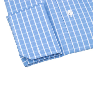 Sky Blu Windowpane Dress Shirt